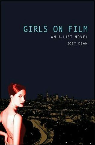 book cover of The Girls on Film