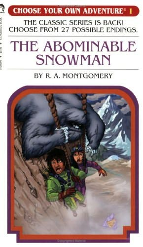 book cover of The Abominable Snowman