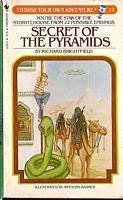 book cover of Secret of the Pyramids