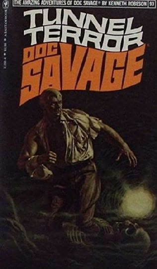 book cover of Tunnel Terror