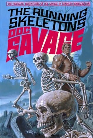 book cover of The Running Skeletons