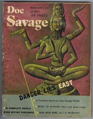 book cover of Danger Lies East