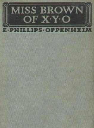 book cover of Miss Brown of X. Y. O.