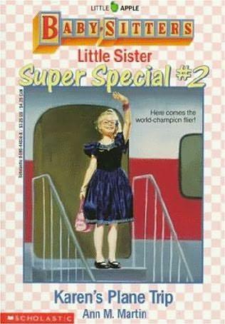 book cover of Karen\'s Plane Trip