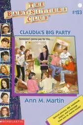 book cover of Claudia\'s Big Party