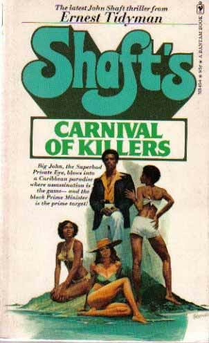 book cover of Shaft\'s Carnival of Killers