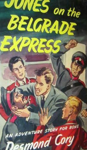 book cover of Jones on the Belgrade Express