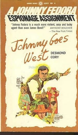 book cover of Johnny Goes West