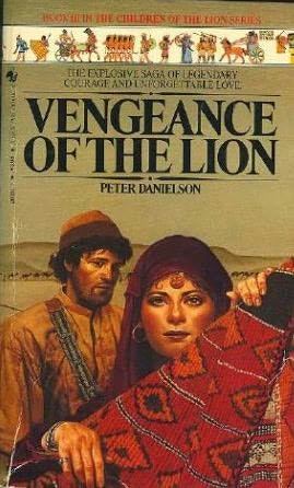 book cover of Vengeance of the Lion
