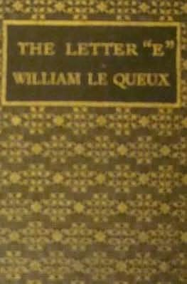 book cover of The Letter E