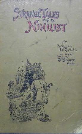 book cover of Strange Tales of a Nihilist