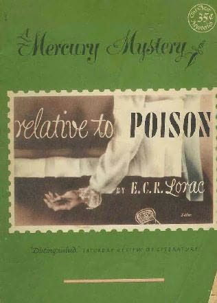 book cover of Relative to Poison