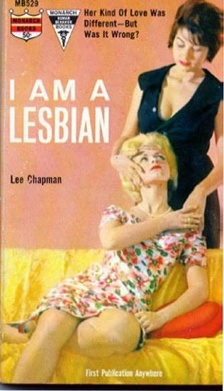 book cover of I am a Lesbian