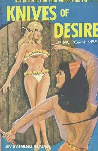 book cover of Knives of Desire