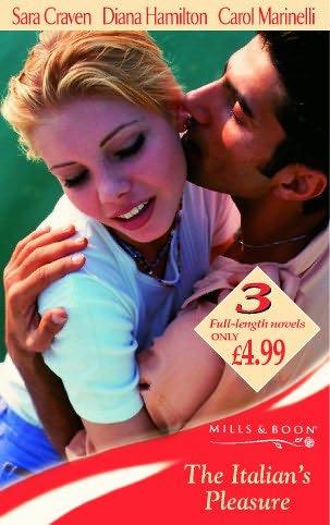 book cover of The Italian\'s Pleasure