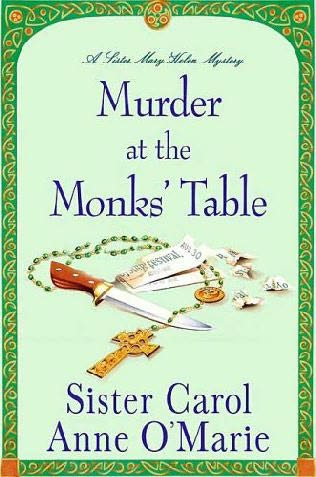 book cover of Murder at the Monk\'s Table