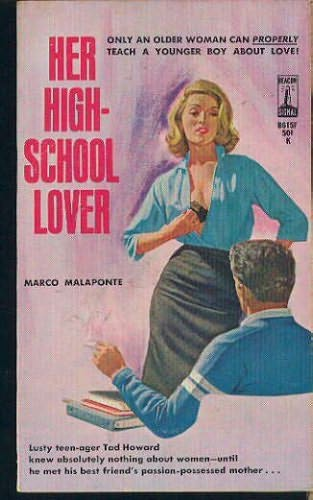 High School Book Cover : Her high school lover by marco malaponte