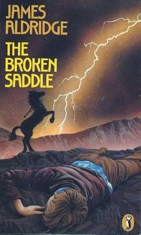 book cover of The Broken Saddle