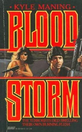 book cover of Bloodstorm