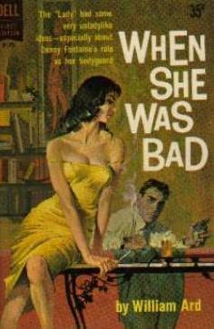 book cover of When She Was Bad