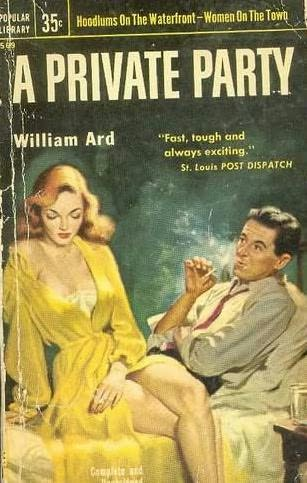 book cover of A Private Party