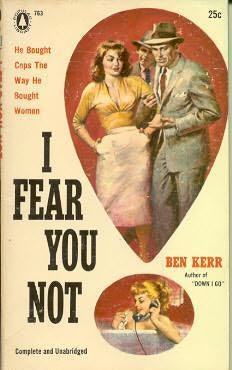 book cover of I Fear You Not