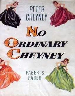 book cover of No ordinary Cheyney