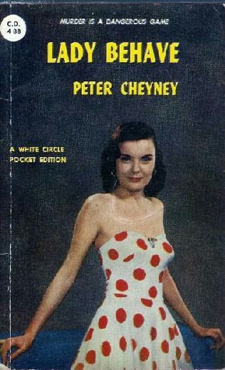 book cover of Lady, Behave!