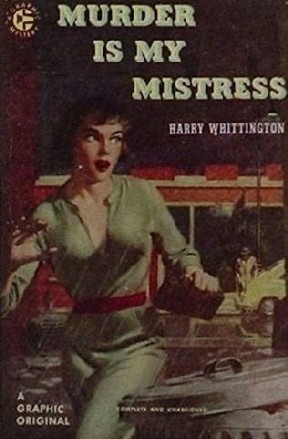 book cover of Murder Is My Mistress