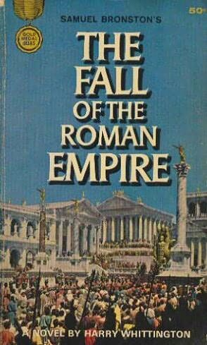 book cover of The Fall of the Roman Empire