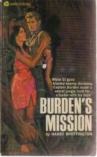 book cover of Burden\'s Mission