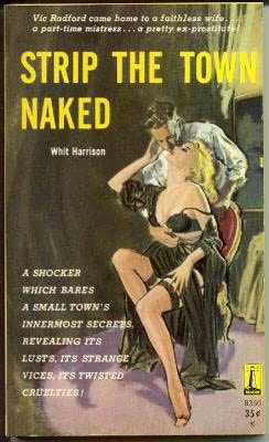 book cover of Strip the Town Naked