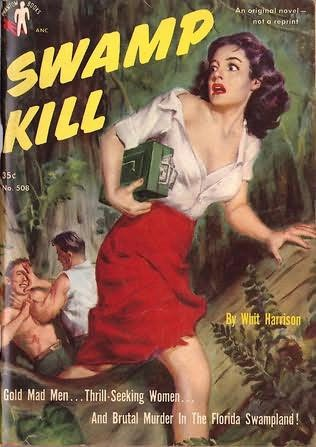book cover of Swamp Kill