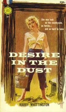 book cover of Desire in the Dust