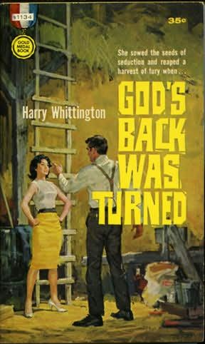 book cover of God\'s Back Was Turned