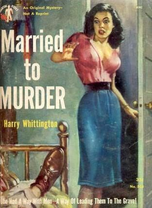 book cover of Married to Murder