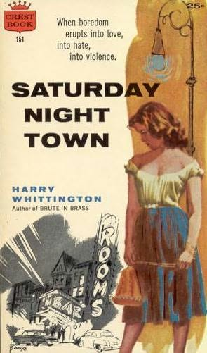 book cover of Saturday Night Town