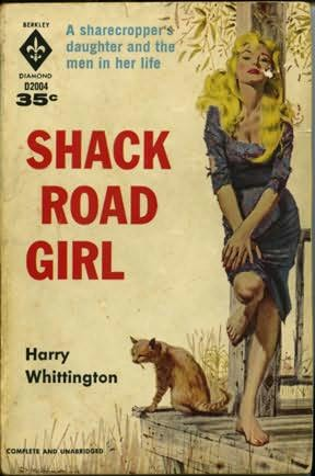 book cover of Shack Road Girl