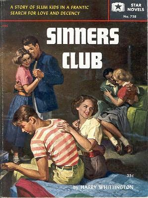 book cover of Sinners Club