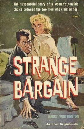 book cover of Strange Bargain