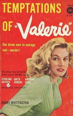 book cover of Temptations of Valerie