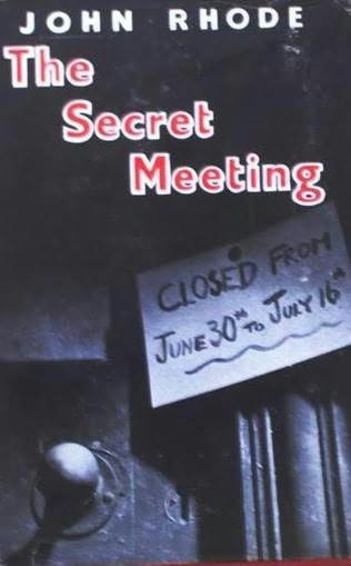 book cover of The Secret Meeting