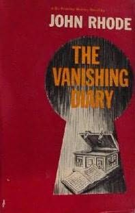 book cover of The Vanishing Diary