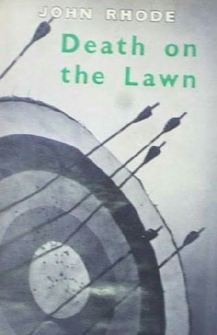 book cover of Death On the Lawn