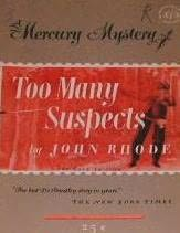 book cover of Too Many Suspects