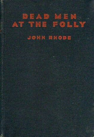 book cover of Dead Men At the Folly