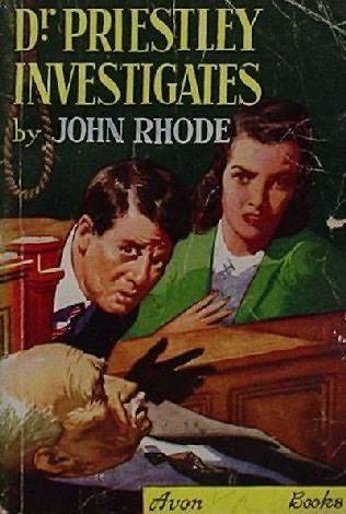 book cover of Dr. Priestley Investigates