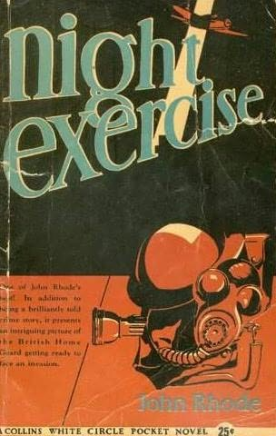book cover of Night Exercise