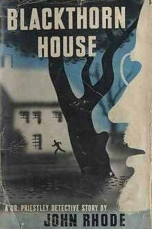 book cover of Blackthorn House