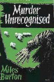 book cover of Murder Unrecognised